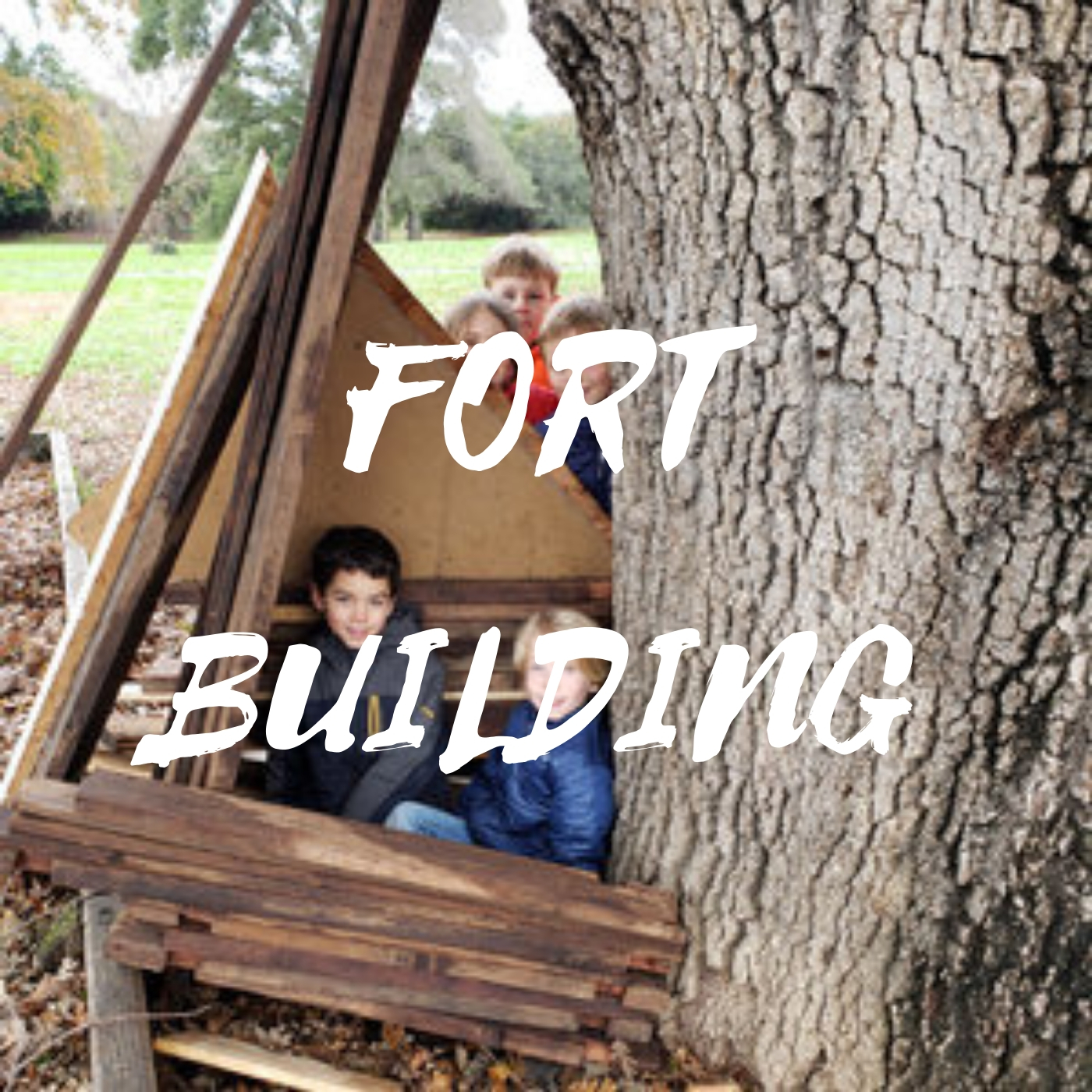 JULY 15 - 19 - Making outdoor hideaways is crucial for building imaginative play. Campers will explore different building techniques and materials to make one of a kind play spaces.