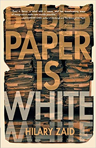 Paper is White - By Hilary ZaidWhen oral historian Ellen Margolis and her girlfriend decide to get married, Ellen realizes that she can't go through with a wedding until she tells her grandmother. There's only one problem: her grandmother is dead.As the two young women beat their own early path toward marriage equality, Ellen's longing to plumb that voluminous silence draws her into a clandestine entanglement with a wily Holocaust survivor--a woman with more to hide than tell--and a secret search for buried history. If there is to be a wedding Ellen must decide: How much do you need to share to be true to the one you love?Set in ebullient, 1990s Dot-com era San Francisco, Paper is White is a novel about the gravitational pull of the past and the words we must find to make ourselves whole.