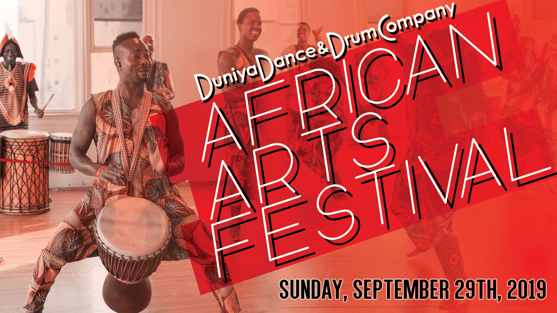 African Arts Festival - September 29John McLaren Park, San FranciscoMore details to come.