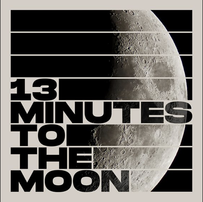 13 Minutes to the Moon Podcast, BBC - History as it happened, uninterrupted: every word, every crackle, the tension and triumph. Hear how Neil Armstrong and Buzz Aldrin became the first humans to reach the Moon. This is Nasa's archive recording of Capcom Charlie Duke's communications loop from 20 July 1969. #13MinutestotheMoon