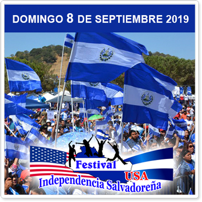 Festival Independencia Salvadoreña - September 8Celebrating the traditions and customs of El Salvador, in order to join the Salvadoran community in an atmosphere of harmony and respect, cultivating the cultural values of El Salvador with other Latin American communities in the USA, so that our children do not forget their cultural roots.