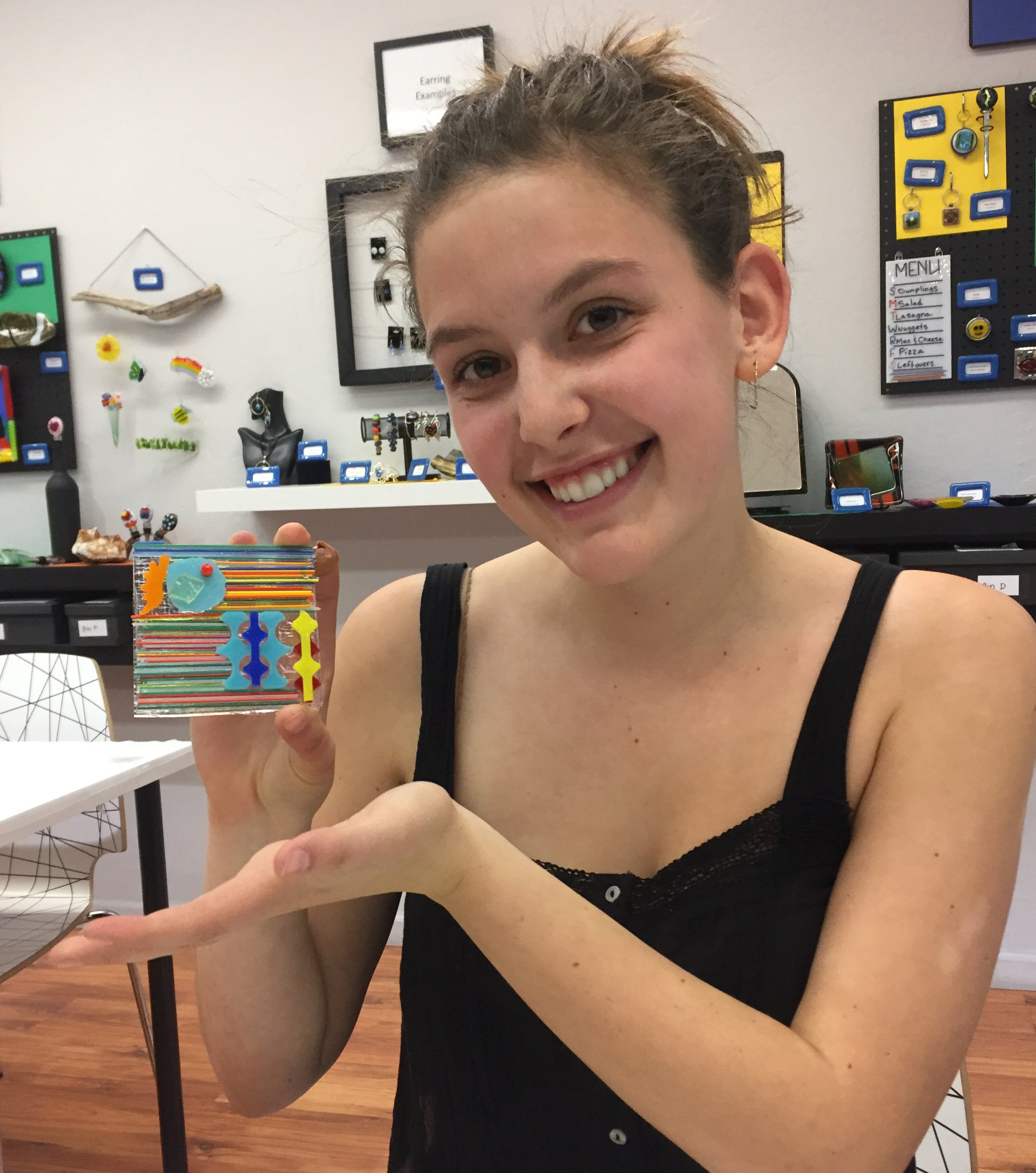 Trip: I Made it Glass! - November 8th, 2019Join Teen Zone on its first trip of the school year as we head over to I Made it Glass, a local art studio where participants will get to make awesome art projects made out of, you guessed it, glass! Don't miss out!