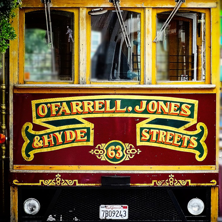 San Francisco Cable Cars - Out of Service September 13-23