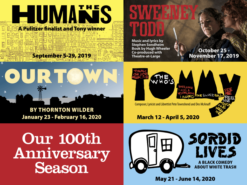 - Four more productions will follow 'The Humans', this season, between now and June. Next up is 'Sweeney Todd', followed by 'Our Town', 'Tommy', and finally, 'Sordid Lives'. Novato Theater Company is setting the bar high, and I'm excited to see these too.
