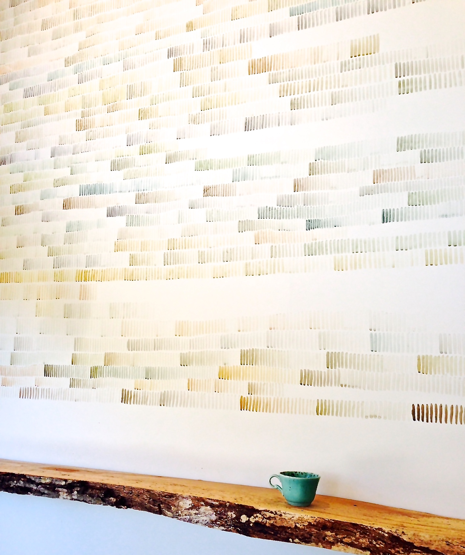 """""""For the Time Being""""  Installation by Amy Rathbone"""
