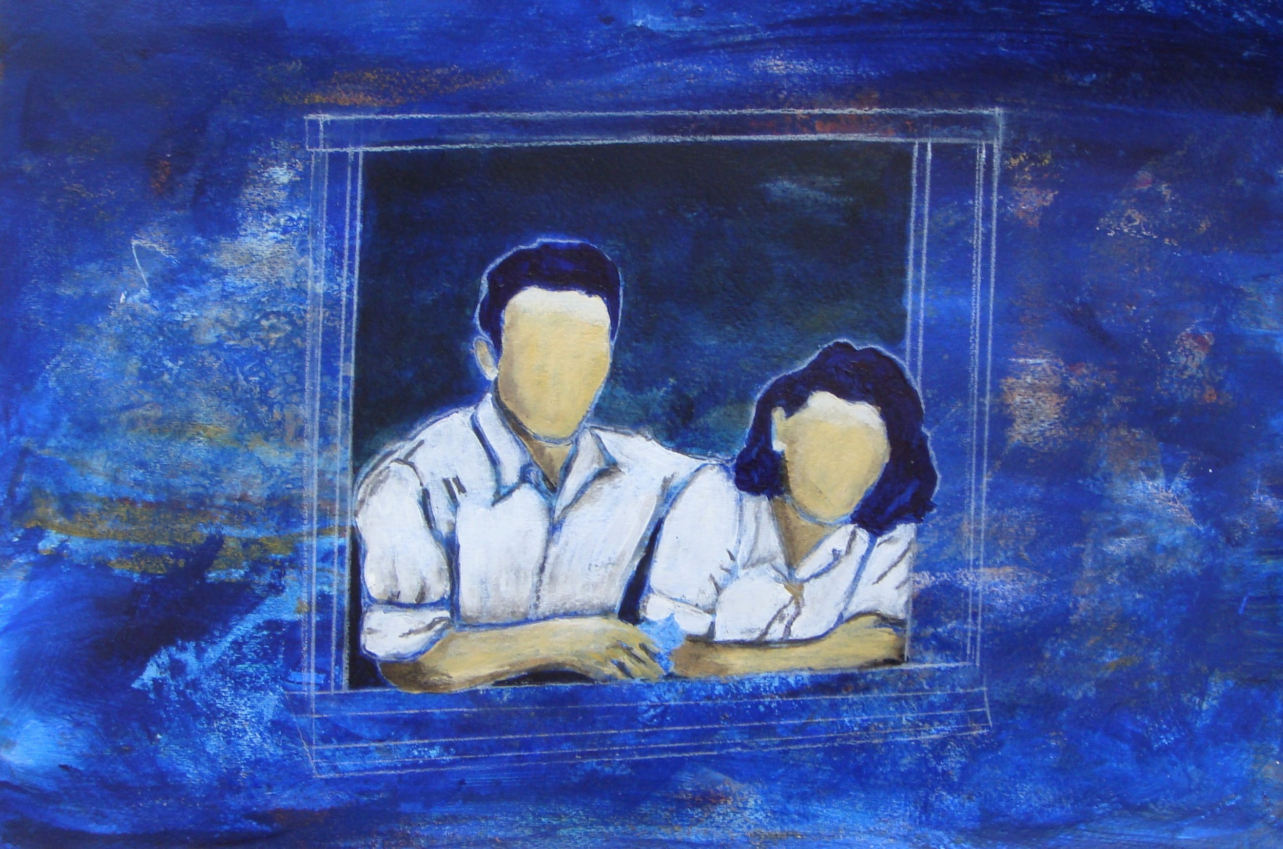 """""""love and hope"""" from the memory series"""