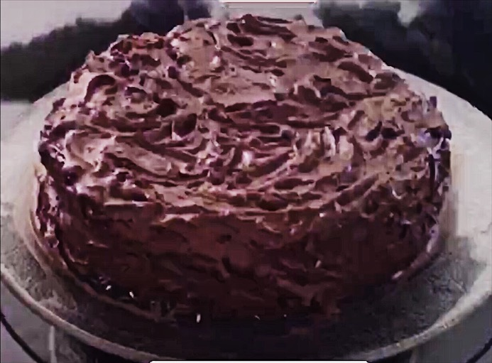 I apololize for this image, but it was taken from a video that I shot of the preparation of this cake. Suffice to say that you are going have to trust me on this one; this cake is a winner for so Many reasons.  It is fabulous either frosted or on its own, is both gluten and dairy free. And it is much easier to prepare than it looks! If you decide not to frost it, please mind the baking time so that the top of the cake does over-darken.