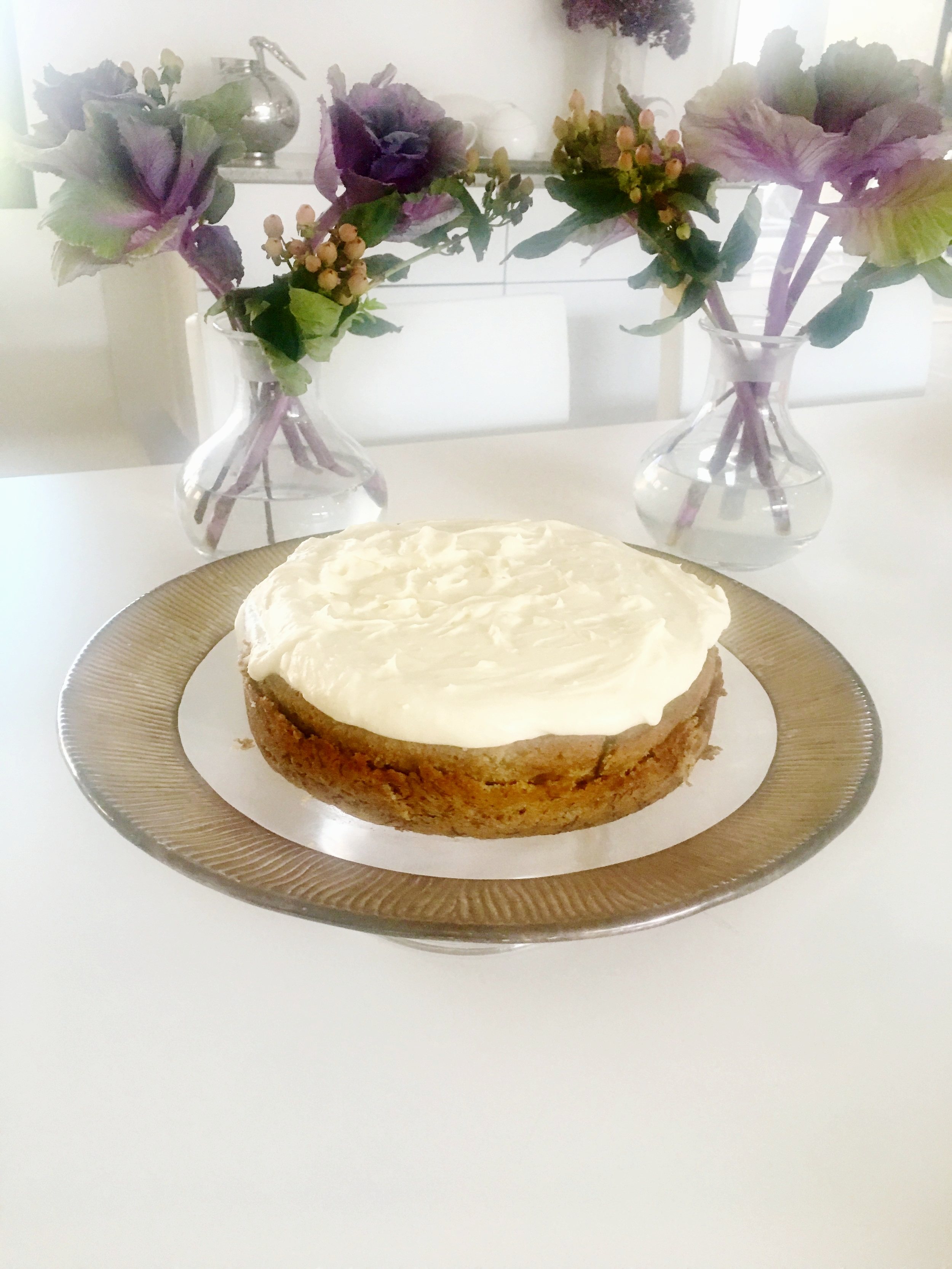 Ina Garten's recipe for Banana Cake is ridiculously good! The addition of the orange rind is what makes it so good.