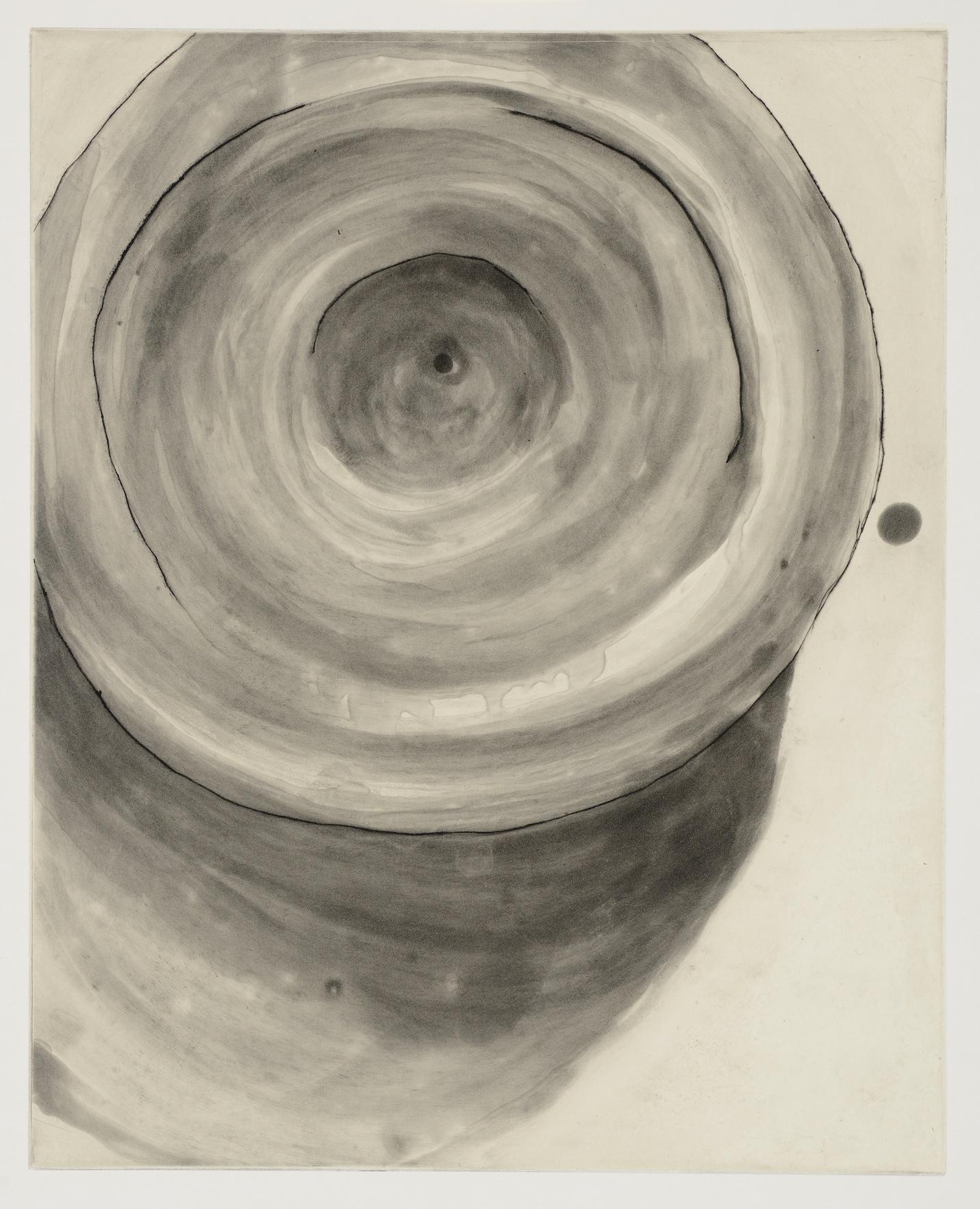 vortex : 16x20 aquatint etching 2014