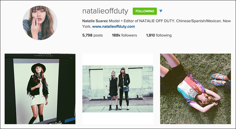 Edgy Style Blogger - Natalie Off Duty