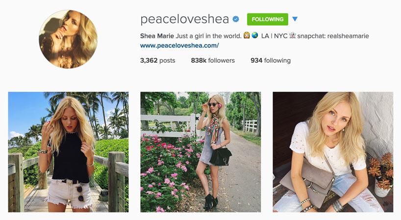 Edgy Style Blogger - Peace Love Shea