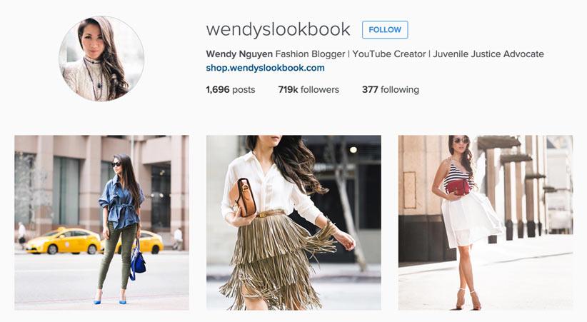 Wendy's LookBook style blogger