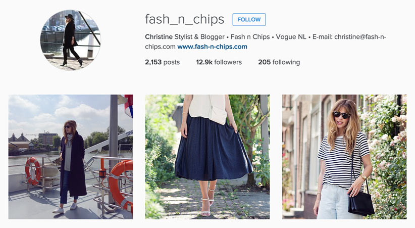 Fashion N Chips style blogger