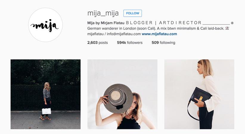 Mija style blogger