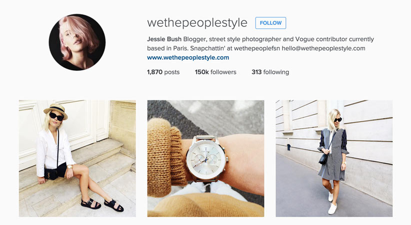 We The People style blogger