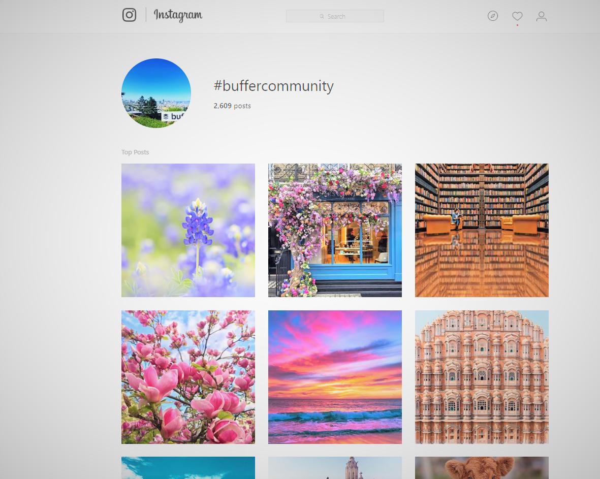 Source:  The #BufferCommunity Feed on Instagram