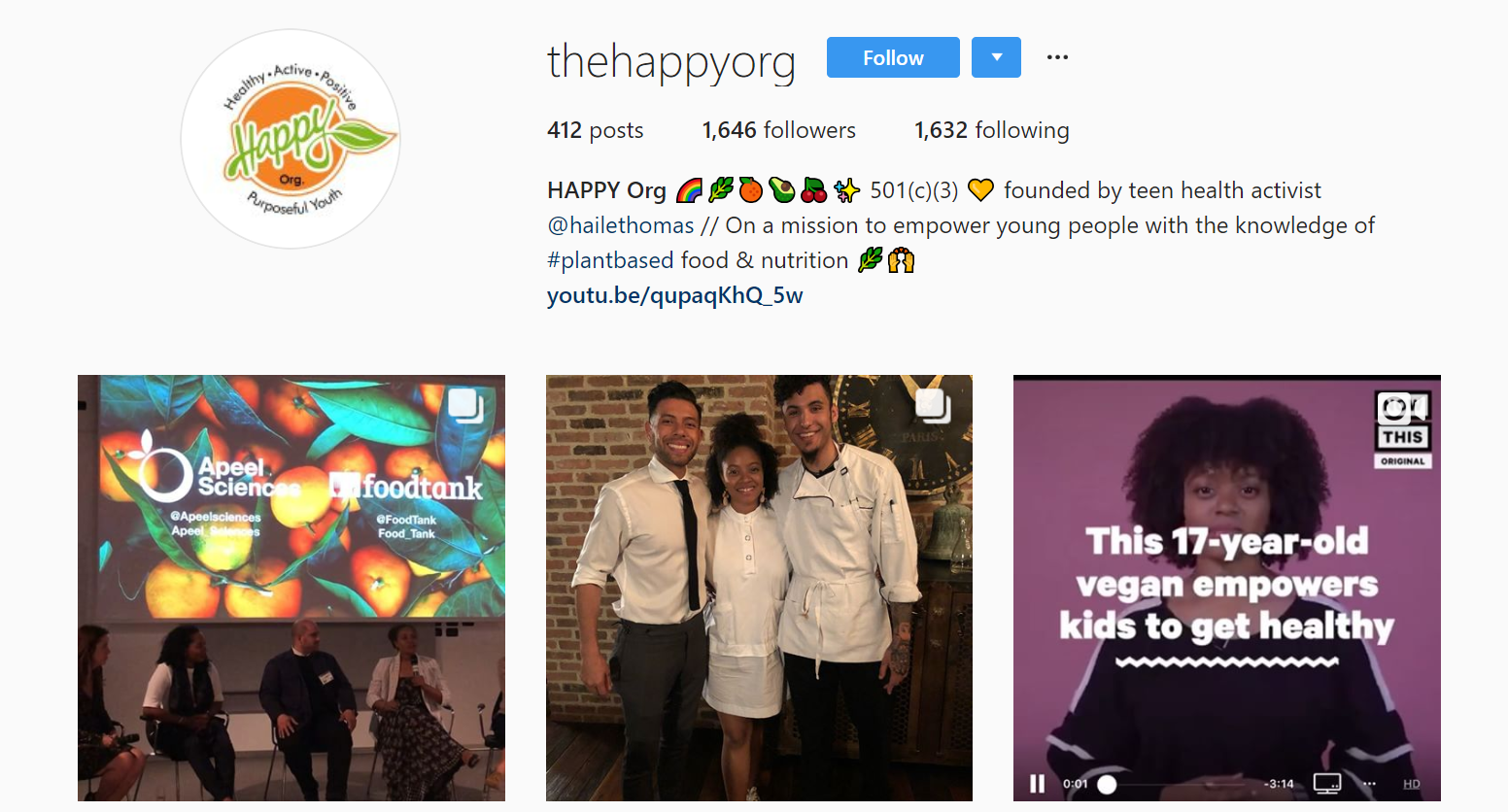 The Happy Org by Haile Thomas - Gen Z Influencer Roundup - The Shelf.png