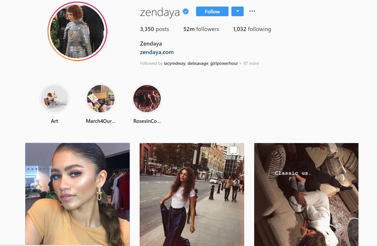 Zendaya - Gen Z Influencer Roundup - The Shelf.png