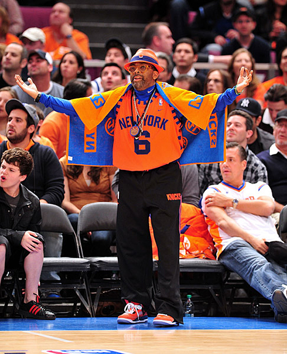 Spike Lee being a true Knicks fan.   Image Owner: Jehjeh123 | Image Source:  Wiki Commons