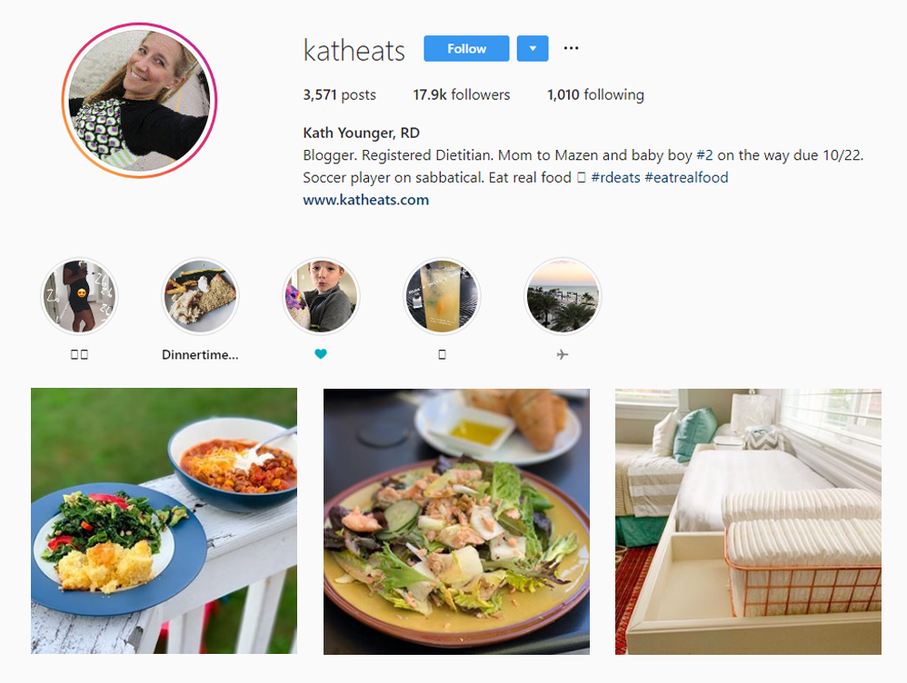 Kath Younger - Health Food Influencers