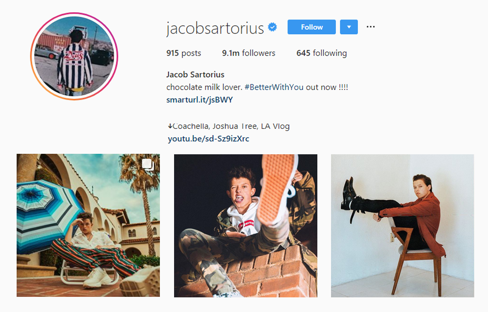 Jacob Sartorius - Kid Influencers Kid Vloggers
