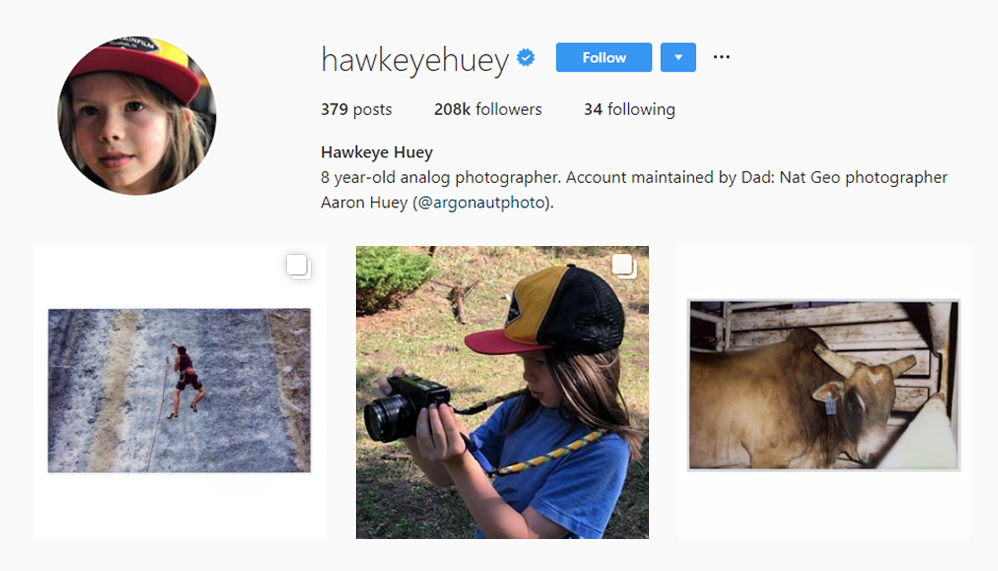 Hawkeye Huey - Kid Influencers Kid Vloggers