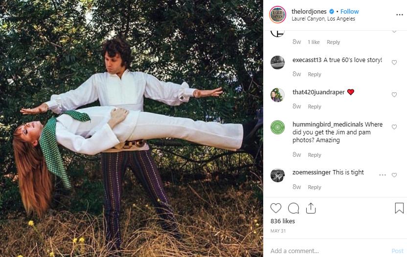Source: Bro, is that Jim Morrison…? On  Instagram