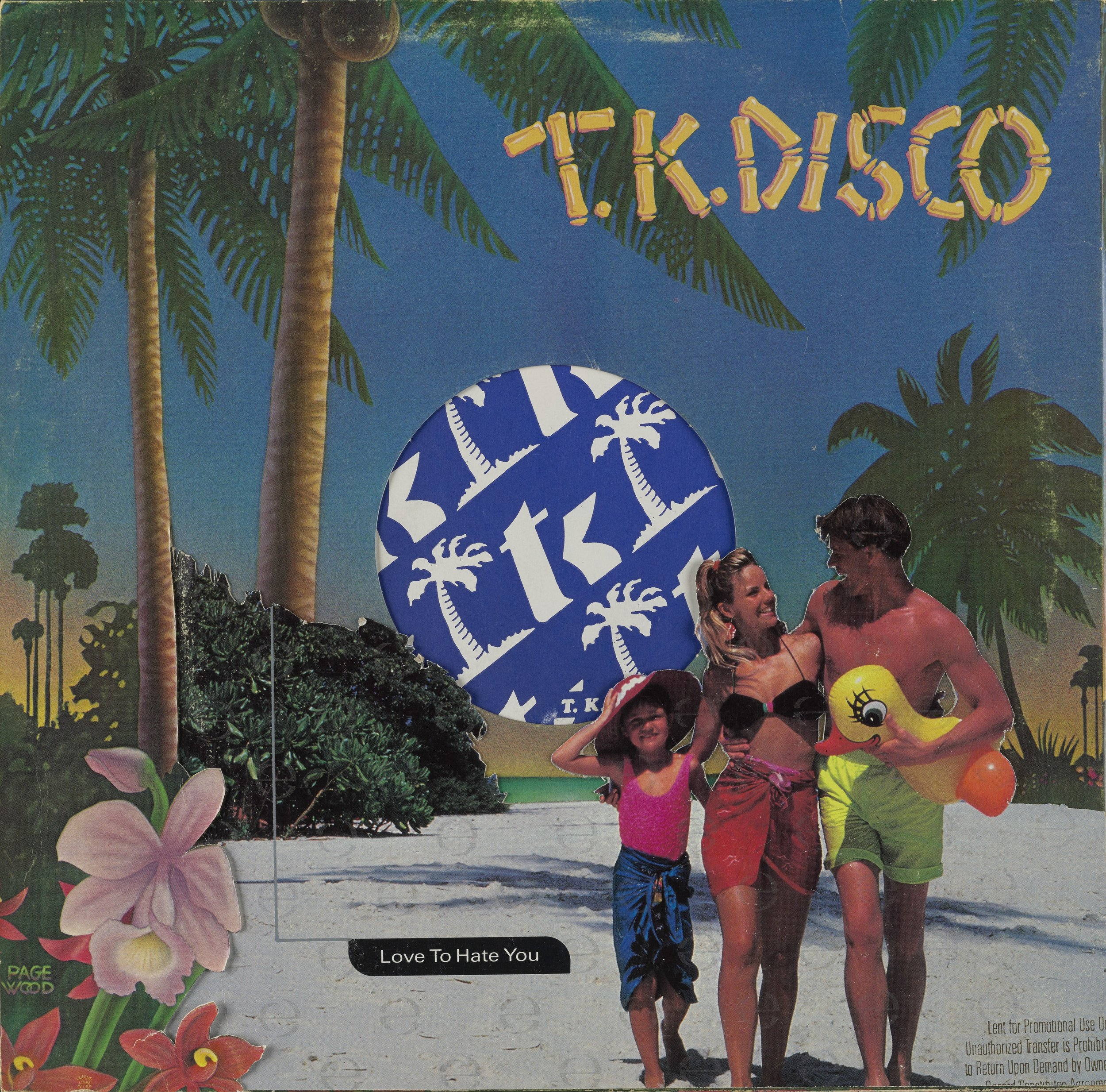 T.K. Disco (back cover), 2016