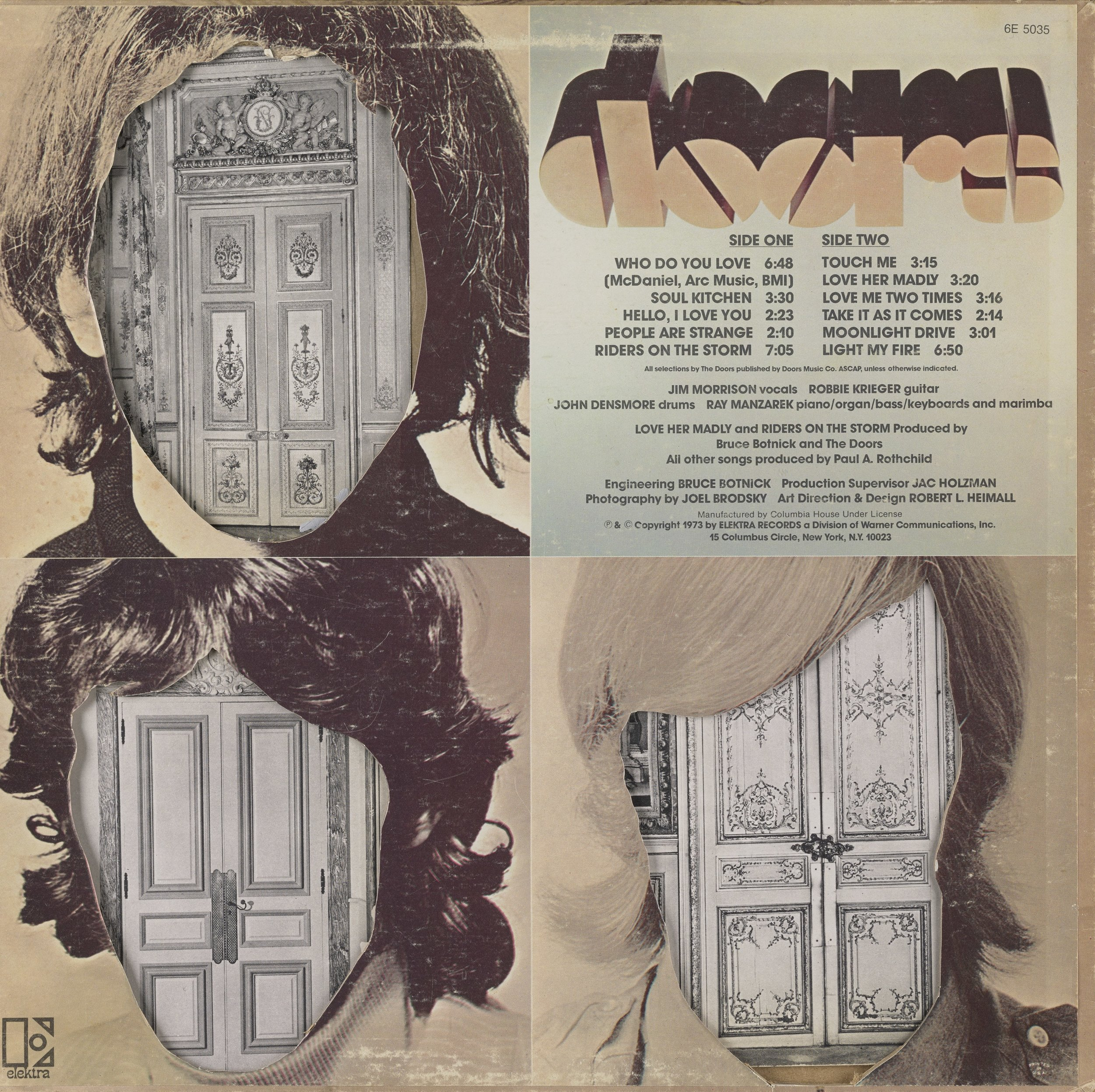 The Doors (back cover), 2016