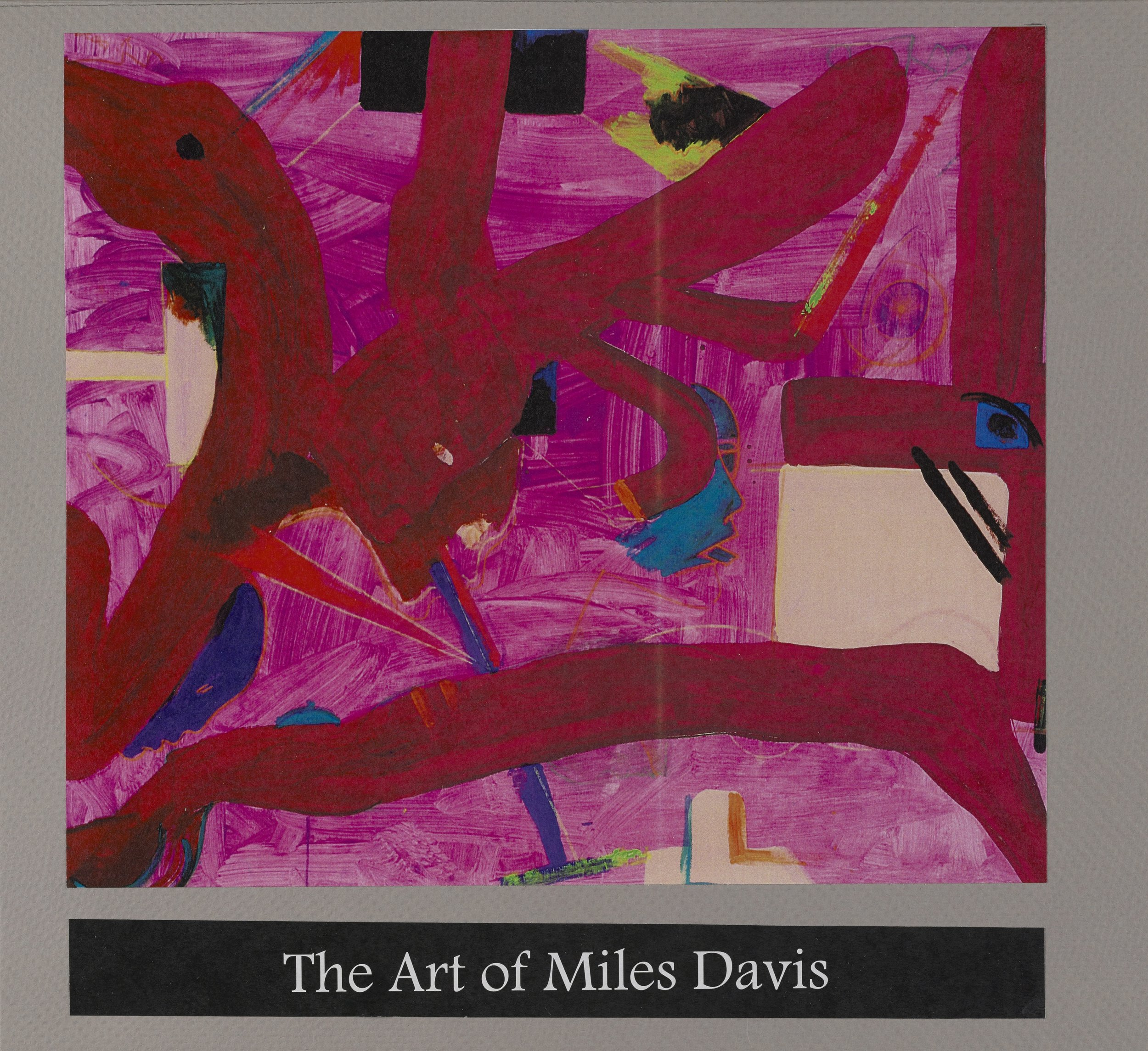 The Art of Miles Davis (insert), 2016