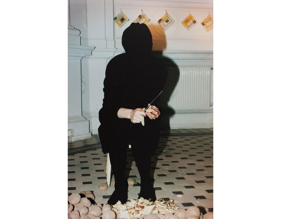 Goshka Macuga , Anti-Collage (Julita Wojcik) , 2011
