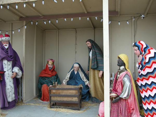 Untitled (Self-Portrait, Nativity Scene)