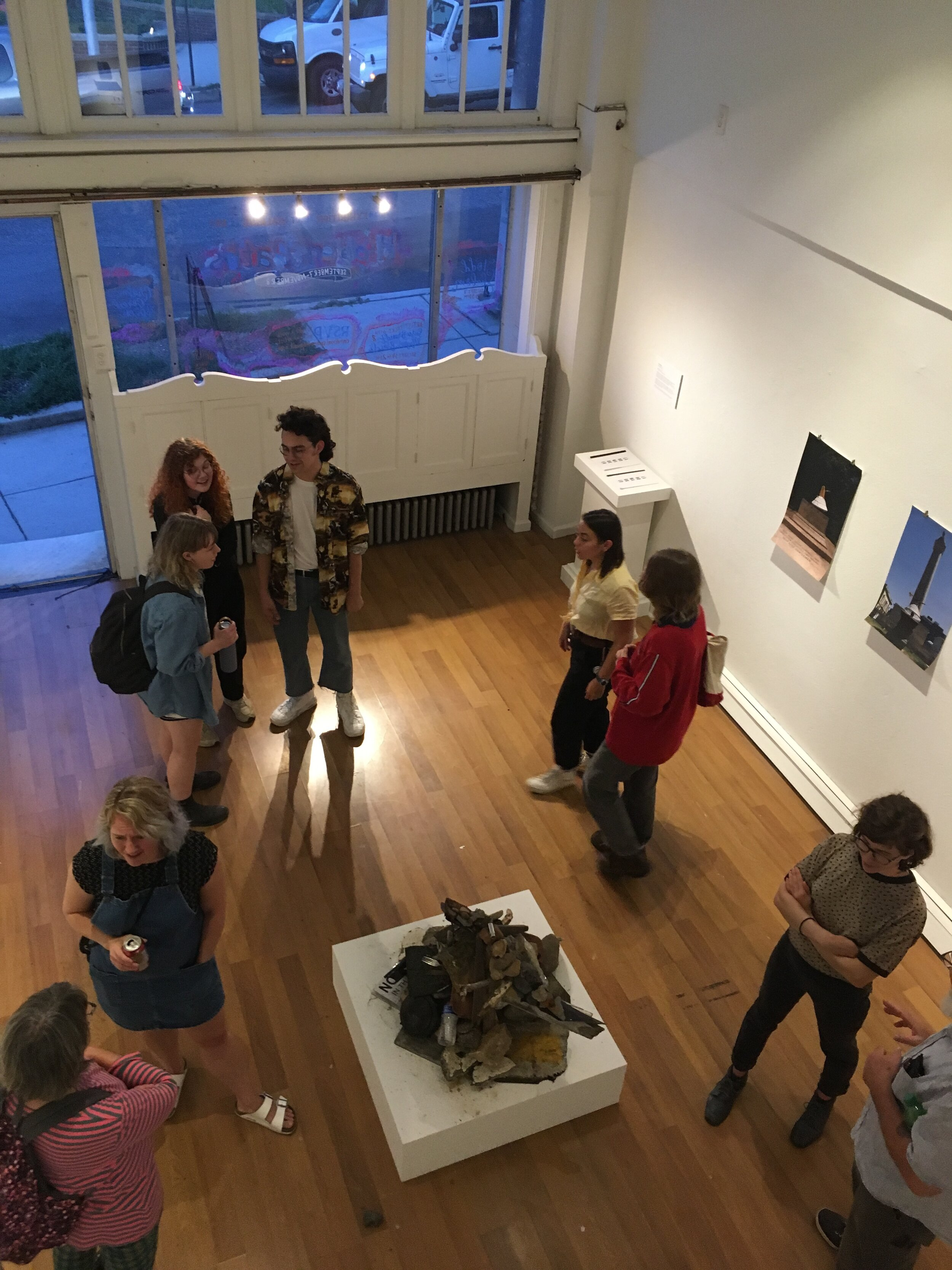 Opening Reception for  Hidden Paths  exhibition