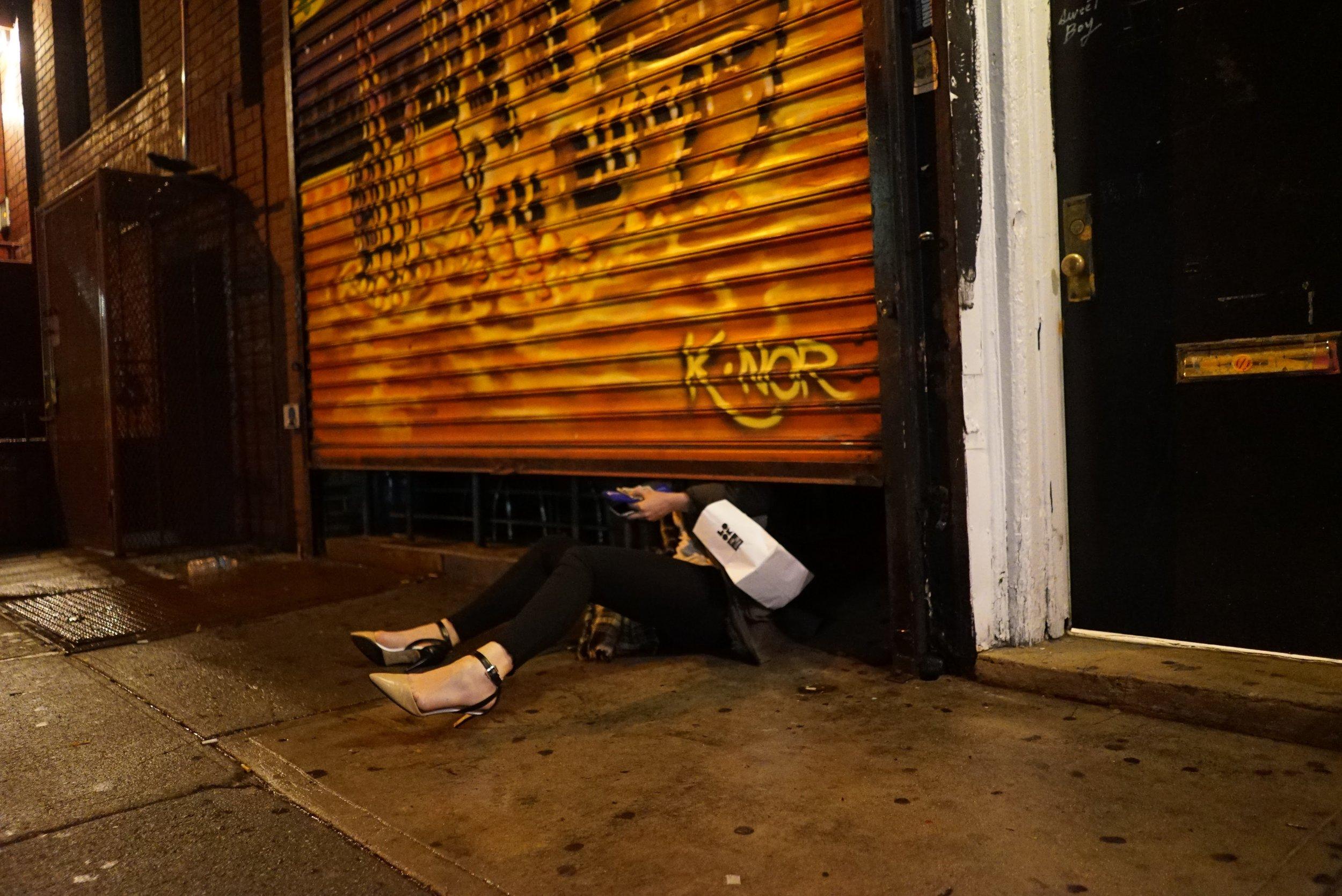 katya coming underneath the door.JPG