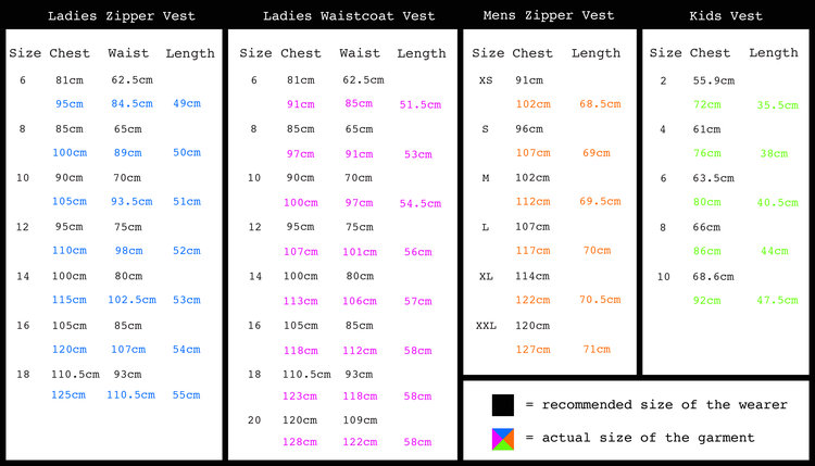 Recommended and real Ladies Vest-Ladies Waistcoat-Mens Vest Sizing-1.jpg