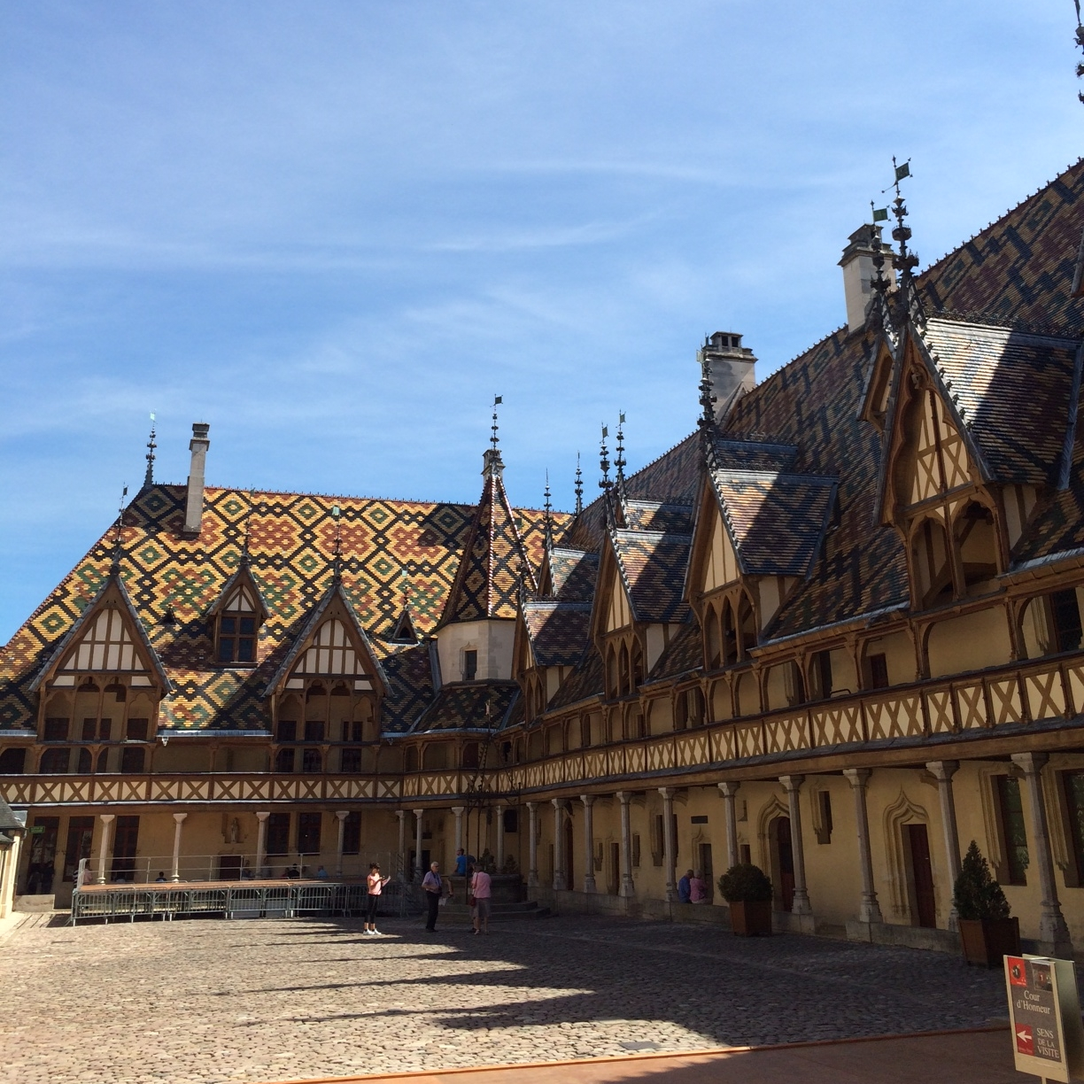 The historic Hospice de Beaune