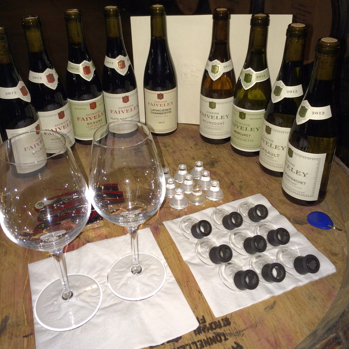 A tasting at Domaine Faiveley