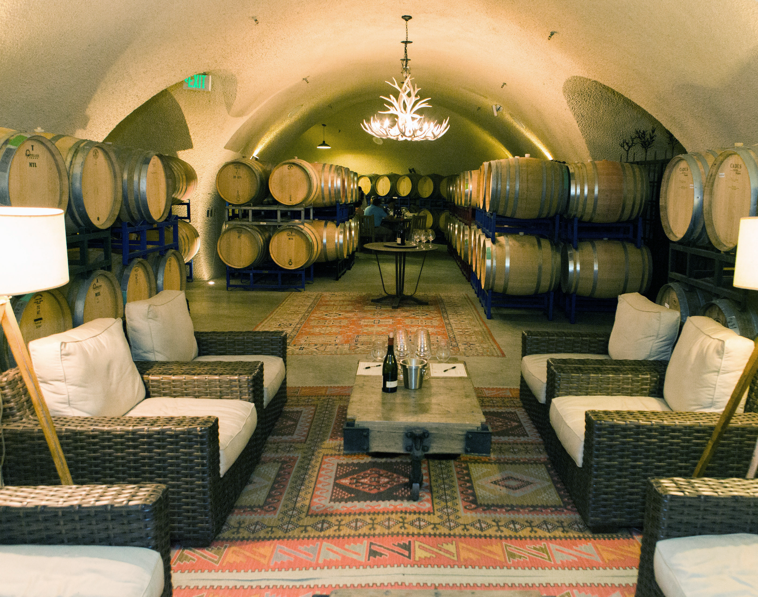 Cave Tours and Barrel Tastings
