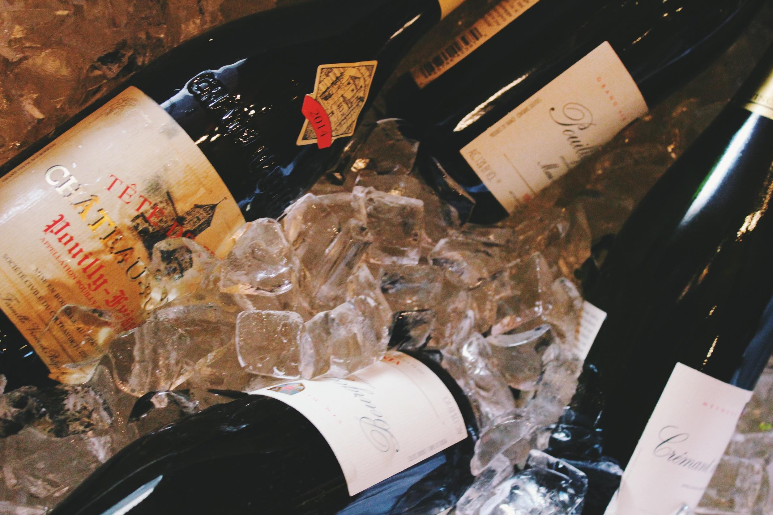 industry wine tasting
