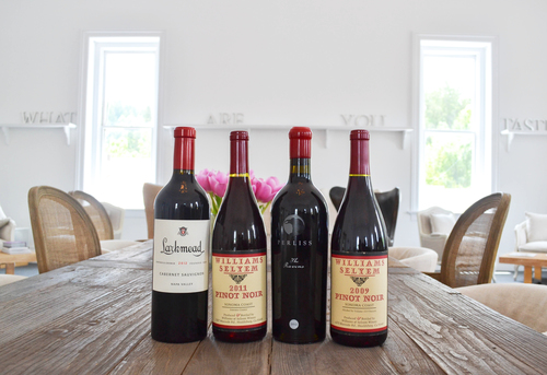 curated wine selections