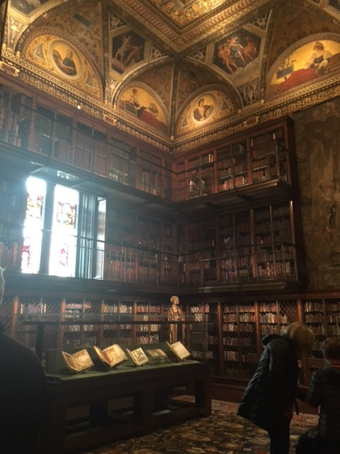 The Morgan Library.