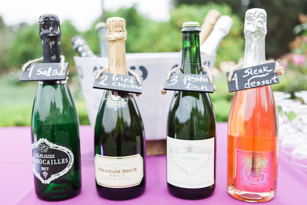 unique wine parings for events