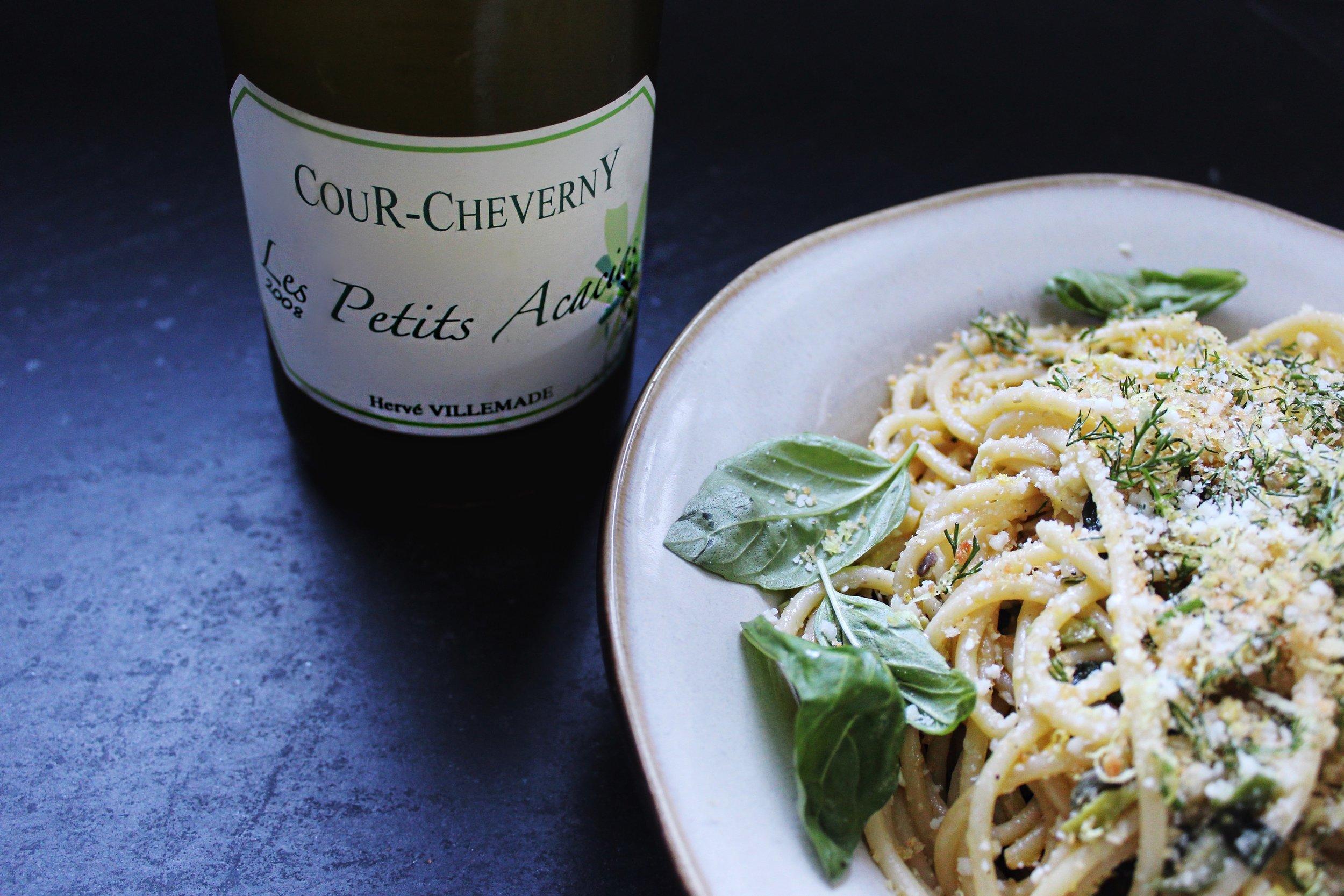 pasta and wine pairing