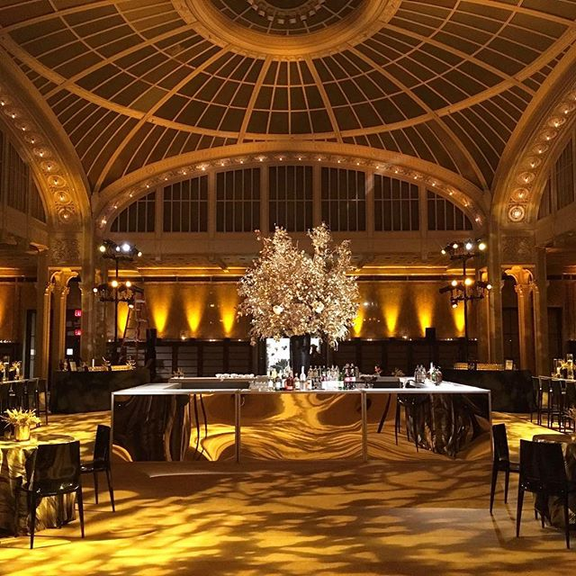 Let's get this party started! Our 6th year producing this epic holiday event at this classic NYC landmark and it never gets old. 🎶 + 🥂🍷