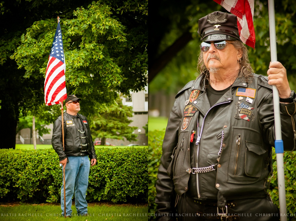 Members of the Patriot Guard