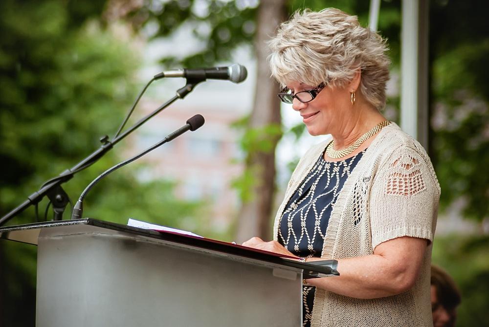 NANCY NEIMEYER, PAST PRESIDENT, MINNESOTA MILITARY FAMILY TRIBUTE