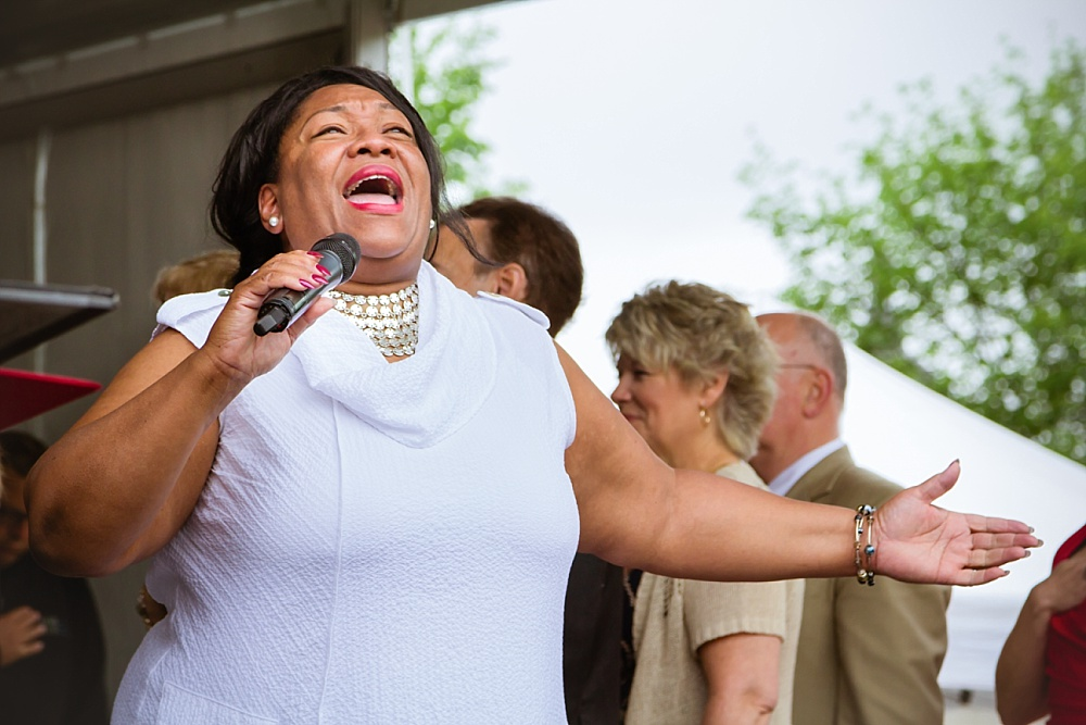 NATIONAL ANTHEM PERFORMER, JEARLYN STEELE
