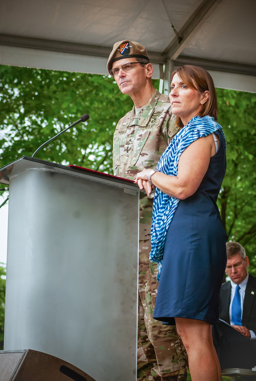 GENERAL JOSEPH VOTEL (AND WIFE MICHELLE), COMMANDING GENERAL, U.S. SPECIAL OPERATIONS