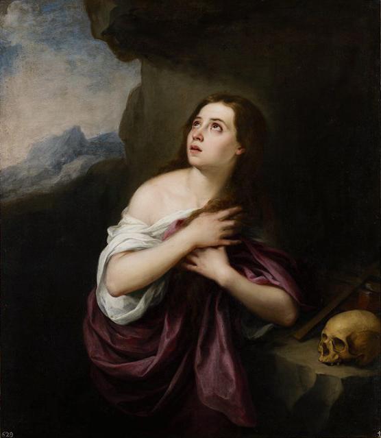 Penitent Magdelene c. 1650–65 by Bartolomé Esteban Murillo b.jpg