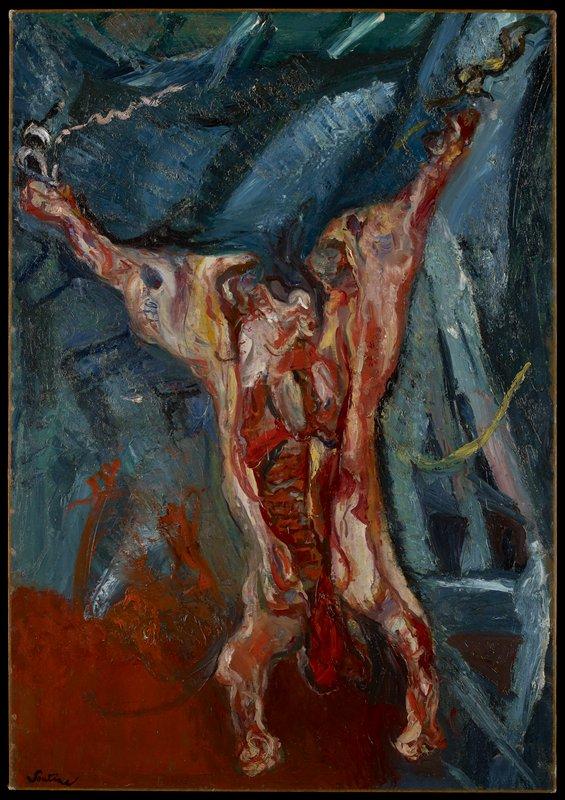 Carcass of Beef, 1925 Chaim Sotine.jpg